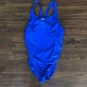 Nike Blue One piece swimsuit